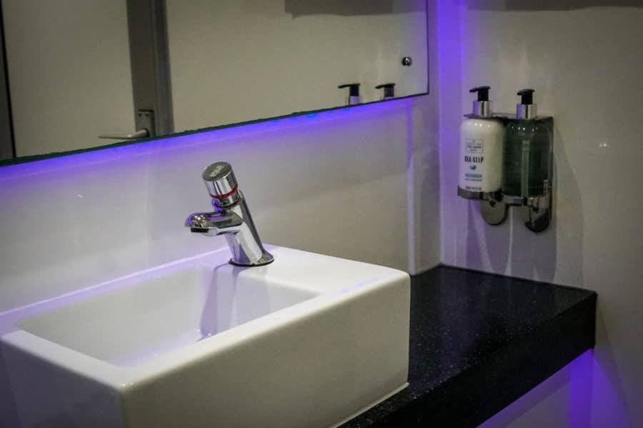 Honeywagon Sink and Soap