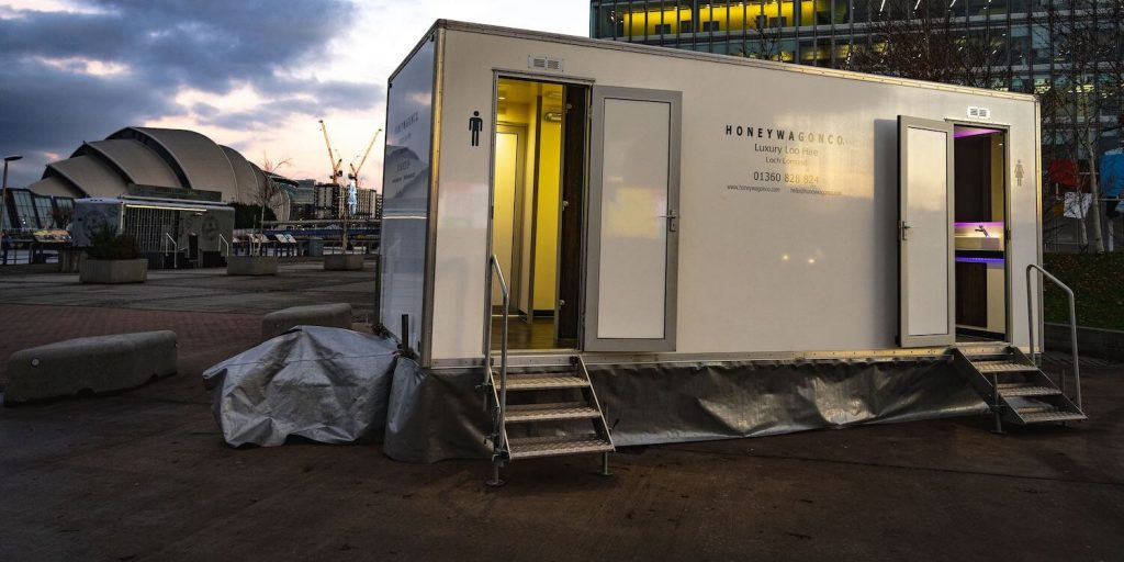 Commercial Luxury Toilet Hire