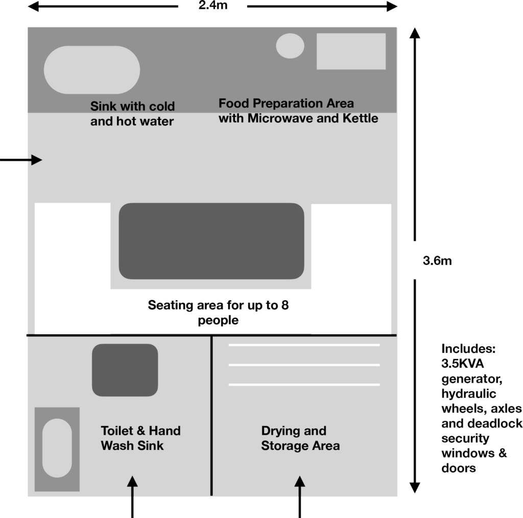 Welfare Unit Floor Plan